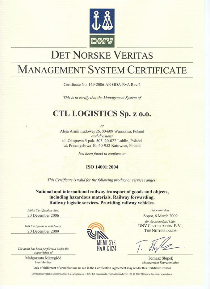 Ctl Logistics Rail Shipments Forwarding Wagons Cargo Handling Sidings